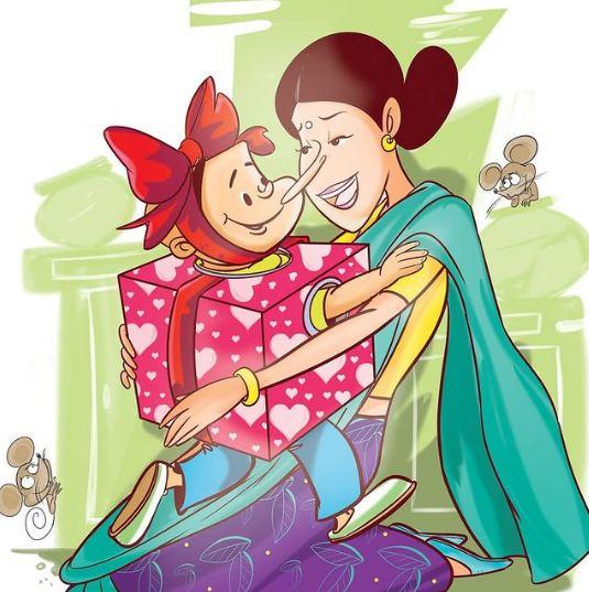 Tinkle Comics Studio - Happy Mother's Day