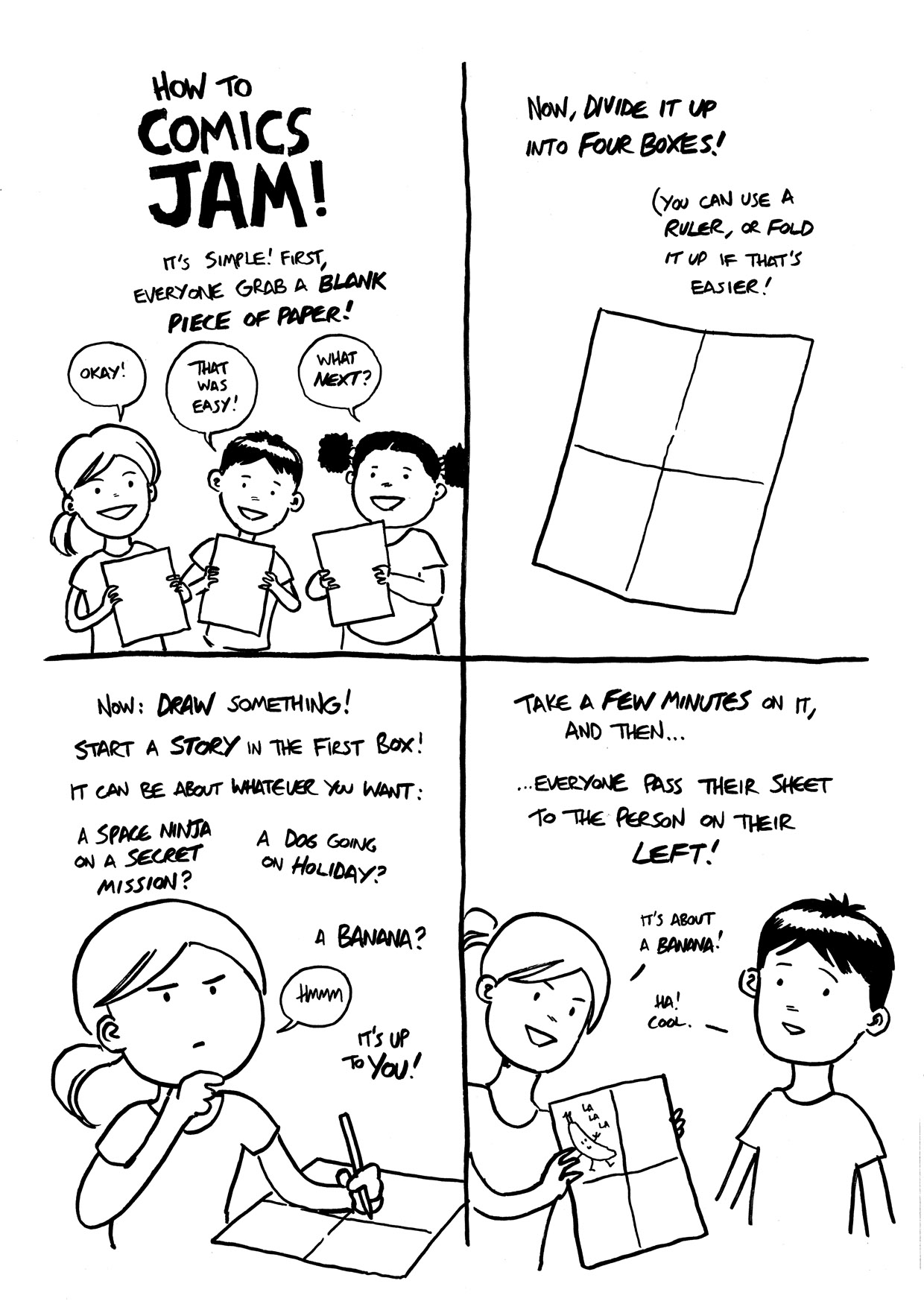 Comics Worksheets Comics Club