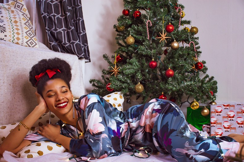 holidays 2020 lingerie editorial