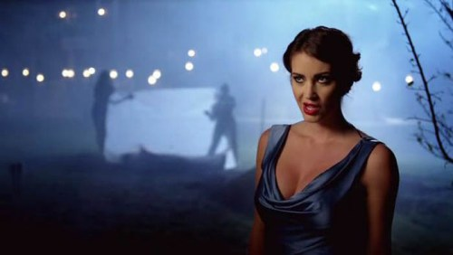 "Tanit Phoenix, as Lilith, host of ""Femme Fatales"""