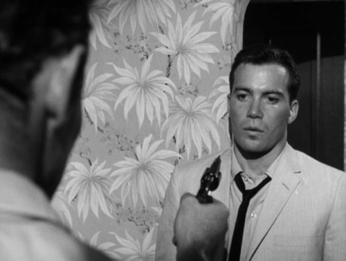 "William Shatner in ""The Intruder"""