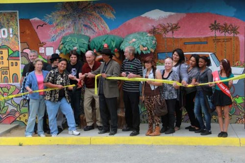 Ribbon Cutting Ceremony with Mayor Pat Morris, May 1, 2012