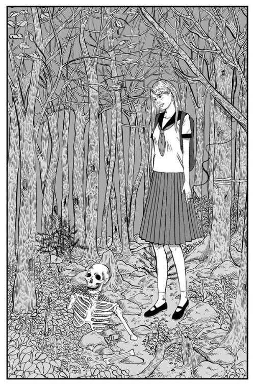 """Aokigahara Forest"" by Jenn Woodall"