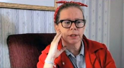 Lynda Barry in CARTOON COLLEGE