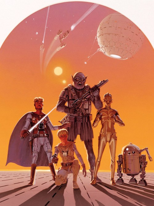 From THE STAR WARS #2, published by Dark Horse Comics