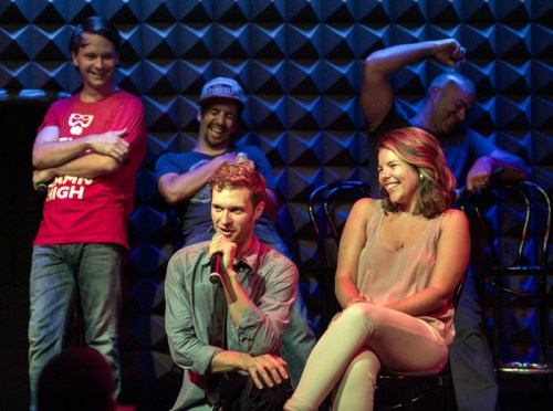 Freestyle Love Supreme at Joe's Pub. (photo credit: Kevin Yatarola)