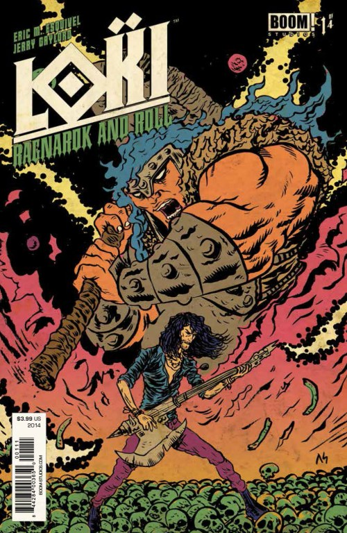 Loki: Ragnarok and Roll #1, cover art by Alexis Ziritt