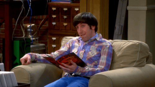 "Simon Helberg as Howard Wolowitz on ""The Big Bang Theory"""