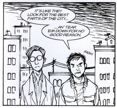 """From Bohemians: A Graphic History: """"Pekar & Crumb in Cleveland"""" by Mark Crilley"""
