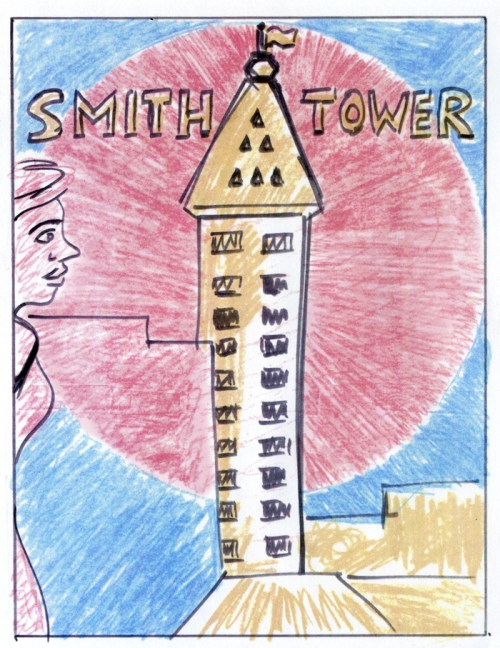 Smith-Tower-Henry-Chamberlain-comics-2014