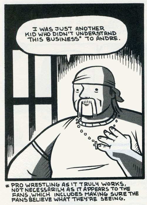 Andre-The-Giant-First-Second-graphic-novel