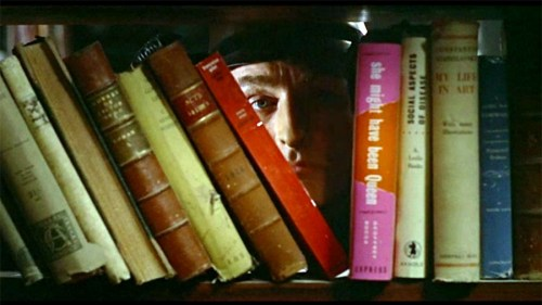 "Oskar Werner as Guy Montag in François Truffaut's ""Fahrenheit 451"""