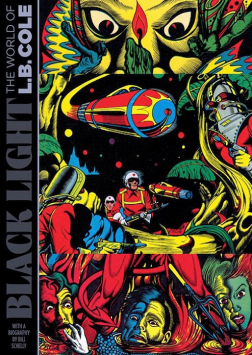 """""""Black Light: The World of L.B. Cole,"""" published by Fantagraphics Books"""