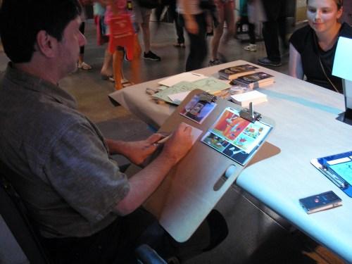 Henry Chamberlain at EMP Museum 13 June 2015