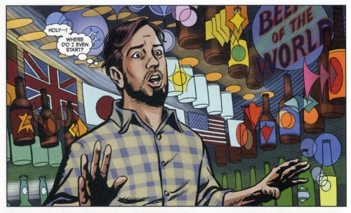 Aaron McConnell The Comic Book Story of Beer