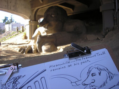 How about that Fremont Troll?