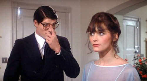 "Christopher Reeve and Margot Kidder in ""Superman: The Movie"""