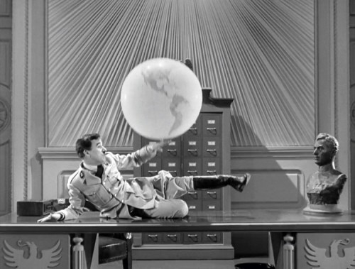 "Chaplin in 1941's ""The Great Dictator"""