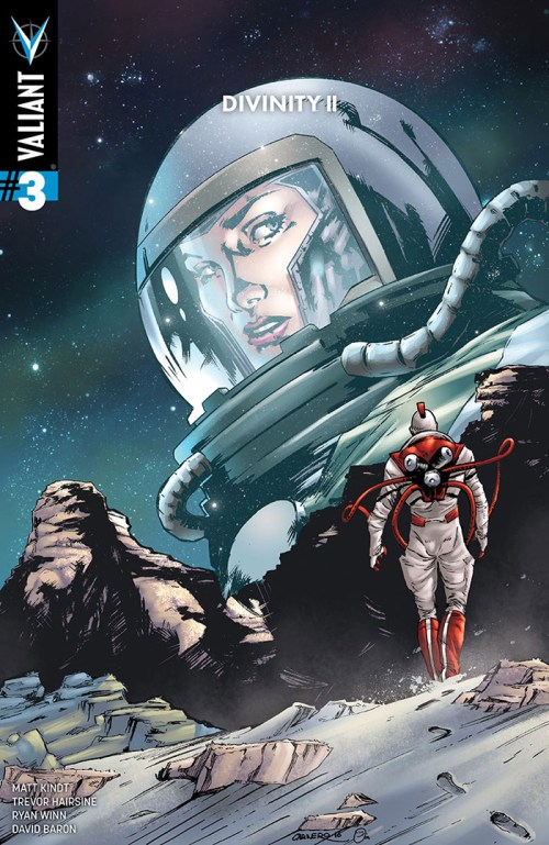 Divinity II #3 variant cover by Carmen Carnero