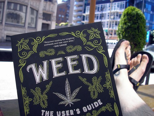 """Weed: The User's Guide: A 21st Century Handbook for Enjoying Marijuana"" by David Schmader"