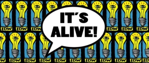 Its Alive Press Drew Ford IDW