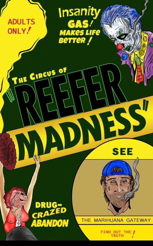 Reefer Madness comics marijuana