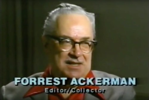 "From ""Fangoria's Weekend  of Horrors"" (1986) segment with Forrest J. Ackerman"