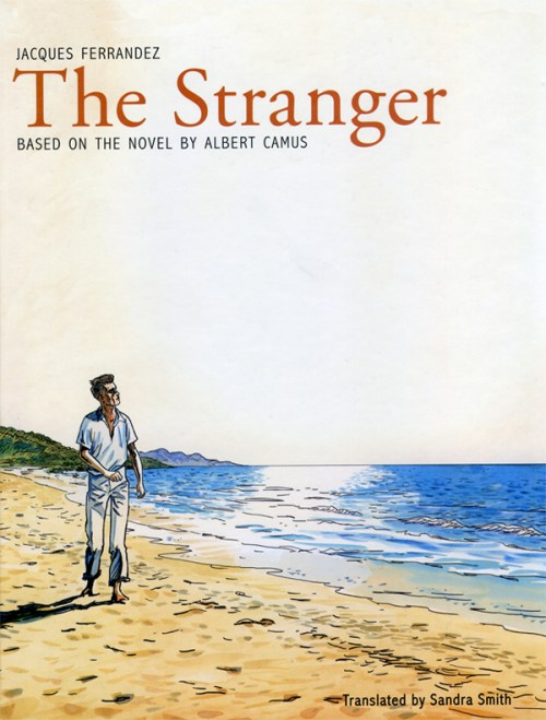 "Jacques Ferrandez's ""The Stranger,"" published by Pegasus Books"