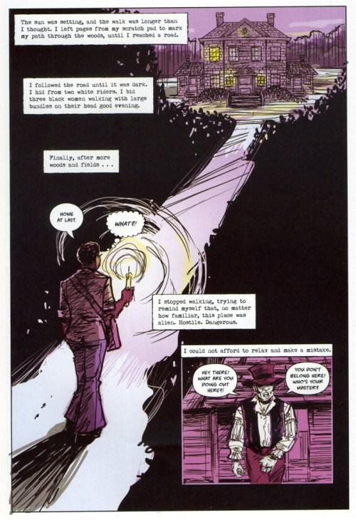 page excerpt: dark journey