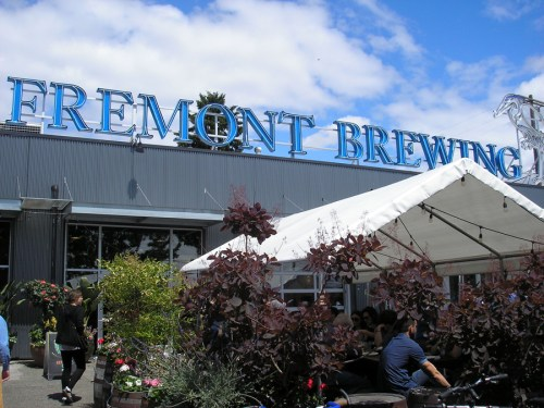 Fremont Brewing in Seattle