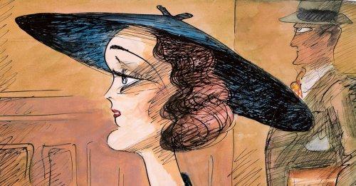 "From ""Mary Astor's Purple Diary"" by Edward Sorel"