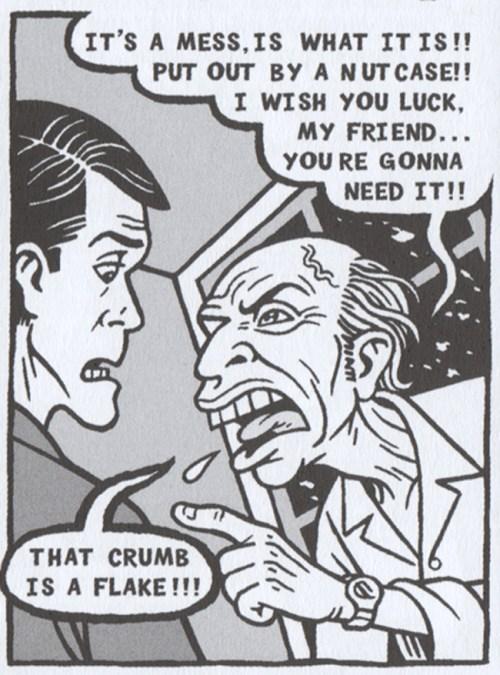 8 x 10 photo of MAD creator HARVEY KURTZMAN from the 1976 San Diego Comicon.