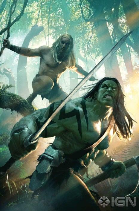 Skaar, en la tierra salvaje