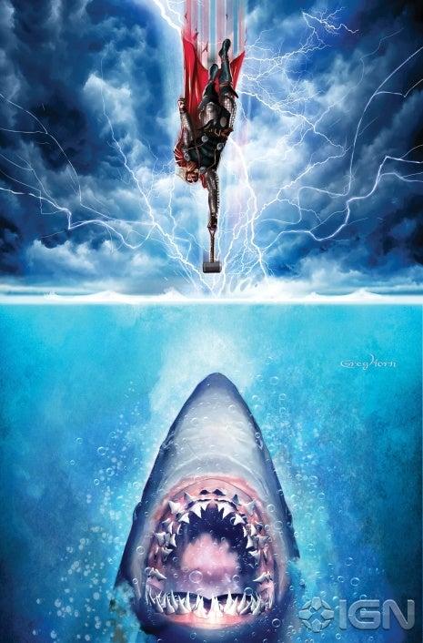Thor contra Tiburón, una pelea desigual