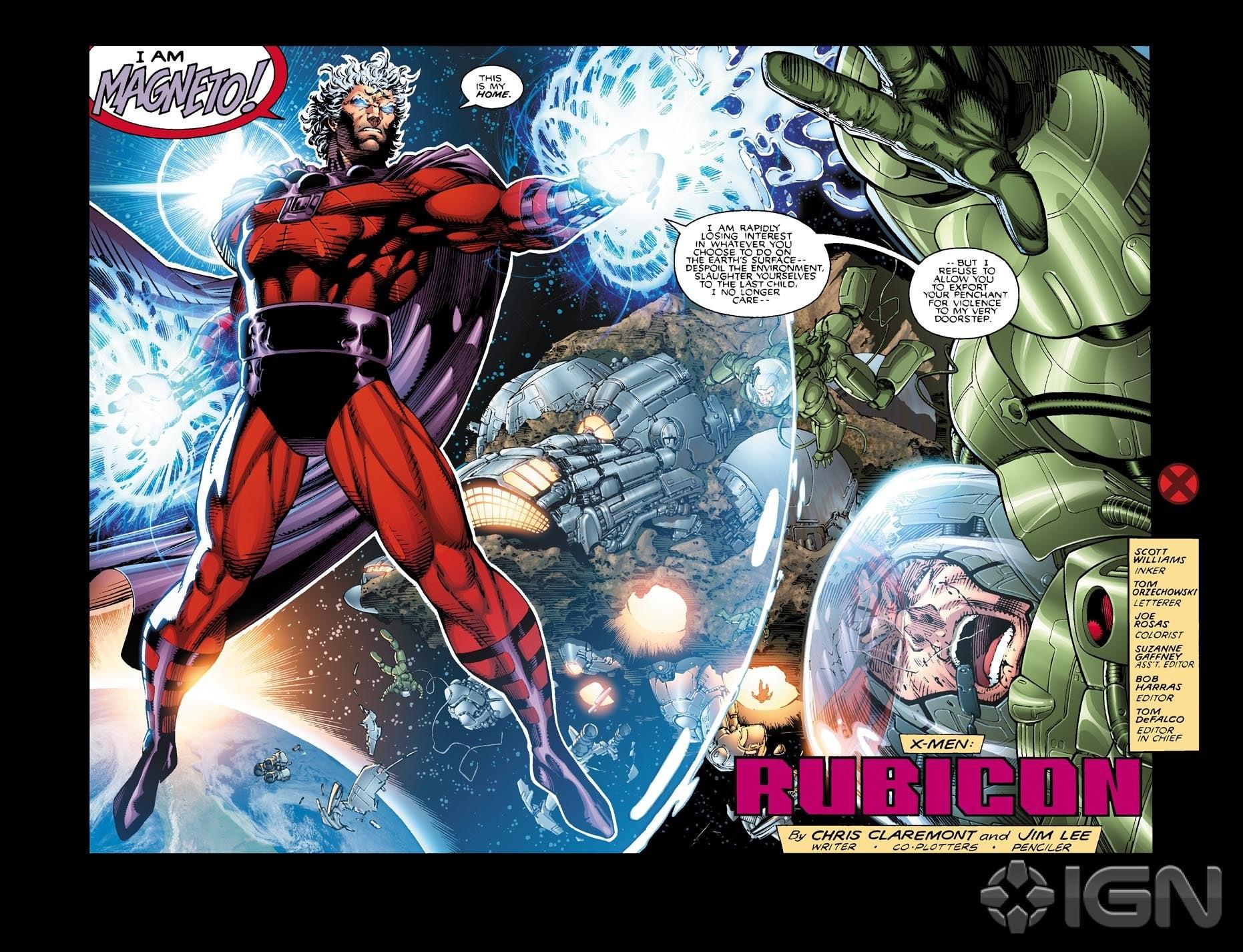 Imagen de X-Men #1 Vol. 2 Interior cortesía de IGN