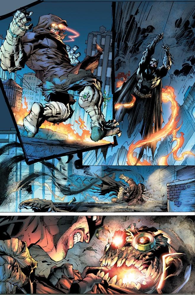 Imagen de Justice League #1 Page 5 cortesía de IGN