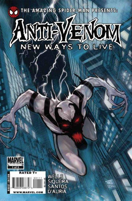 The Amazing Spider Man Presents Anti Venom New Ways To Live
