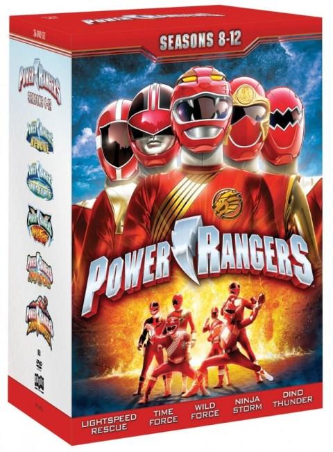 DVD Review: Power Rangers Seasons 8-12 Collection - ComicsOnline