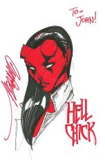 Hellchick by J Scott Campbell