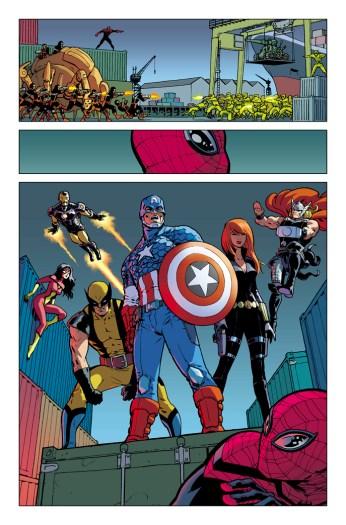 Superior Spider-man #26 Javier Rodriguez Preview Art