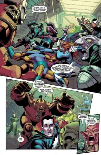 Green Lantern Corps #27 Preview 5 Art by Bernard Chang