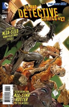 Batman: Detective Comics #27 Variant Cover By Tony Daniel