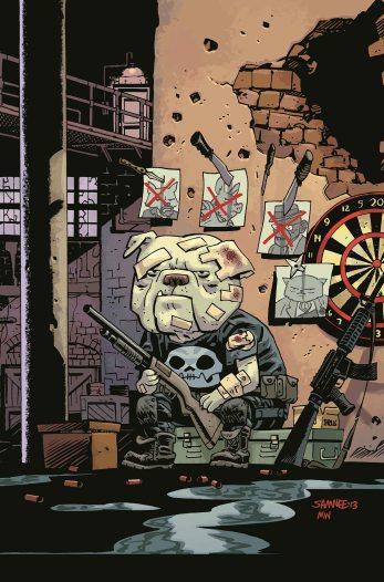 The Punisher #1 Animal Variant By Chris Samnee