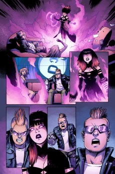 Avengers Undercover #1 Preview 1 Art by Kev Walker