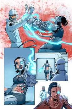 Avengers Undercover #1 Preview 3 Art by Kev Walker