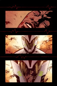 Iron Patriot #1 Preview 2 Art by Garry Brown