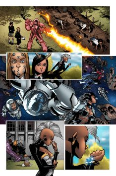 Wolverine and the X-Men #1 Preview 2 Art by Mahmud Asrar
