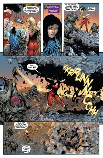 Superboy #29 Preview 4 Art by Mark Irwin/Andres Guinaldo