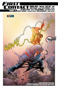 Batman/Superman #9 Preview 3 Art by Jae Lee