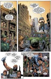 Forever Evil Aftermath: Batman Vs Bane #1 Preview 4 Art by Jaime Mendoza/Scott Eaton